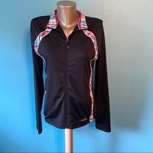 Diadora lightweight zip up jacket